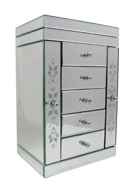 Large Mirrored Jewellery Box Uk Home Decorating Ideas Interior